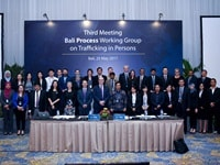 Third Annual Meeting of the Bali Process Trafficking in Persons Working Group in Bali, Indonesia -2017
