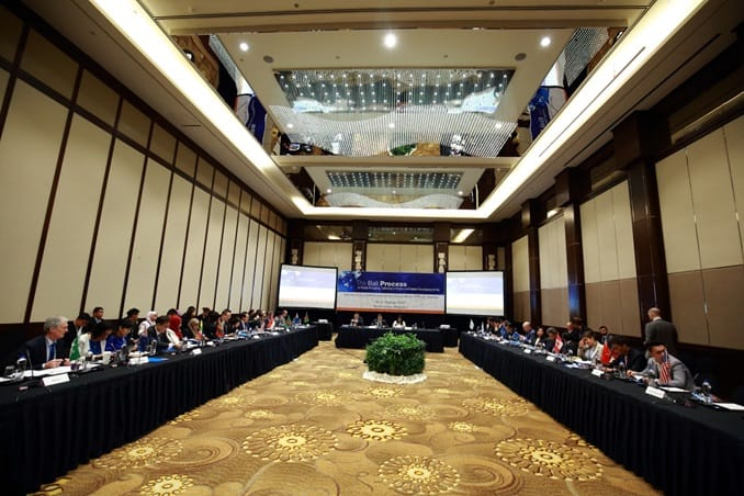 Ad Hoc Senior Officials' Meeting in Kuala Lumpur, Malaysia - 31 October 2017