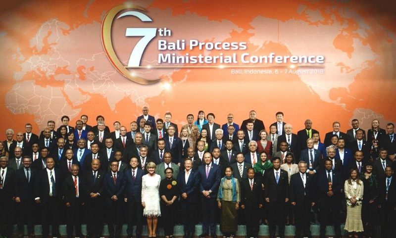 Seventh Ministerial Conference & Second Government and Business Forum in Bali, Indonesia on 7 August 2018