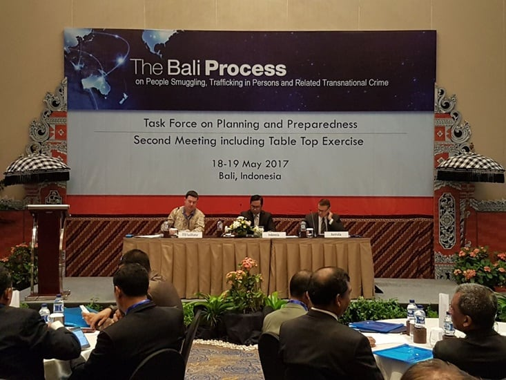 Bali Process Task Force on Planning and Preparedness Meeting in Bangkok, Thailand - 27 January 2017