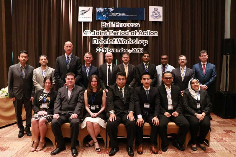 Fourth Joint Period of Action Debrief Workshop - 22 November 2018 in Bangkok, Thailand