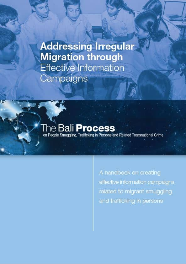 The bali Process Handbook on Creating Effective Information Campaigns